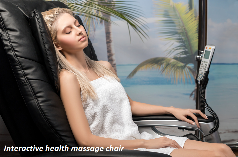 Interactive health massage chair
