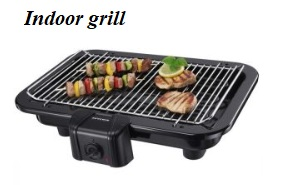 The different types of electric grills