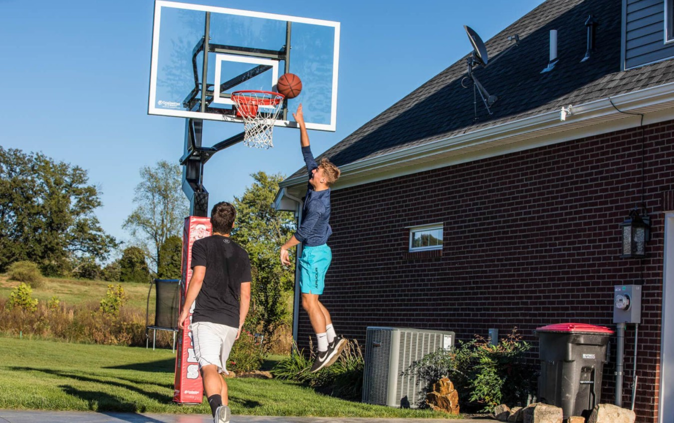 Can I Dunk On An In-Ground Basketball System